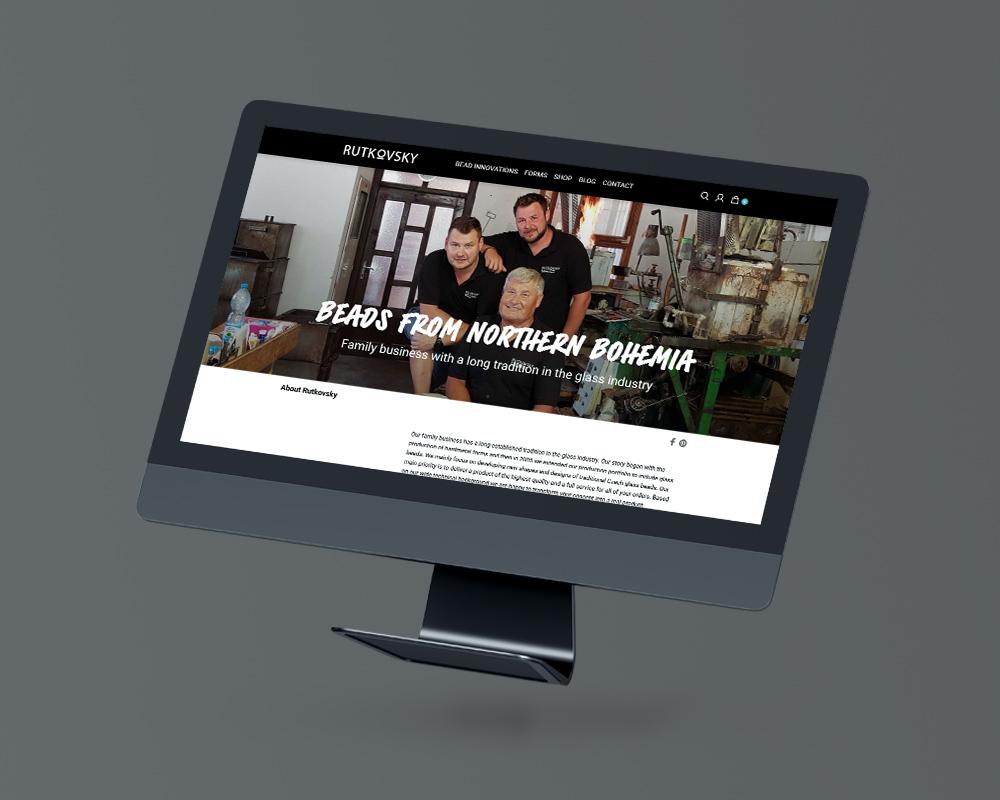 Rutkovsky.com – Internetové stránky