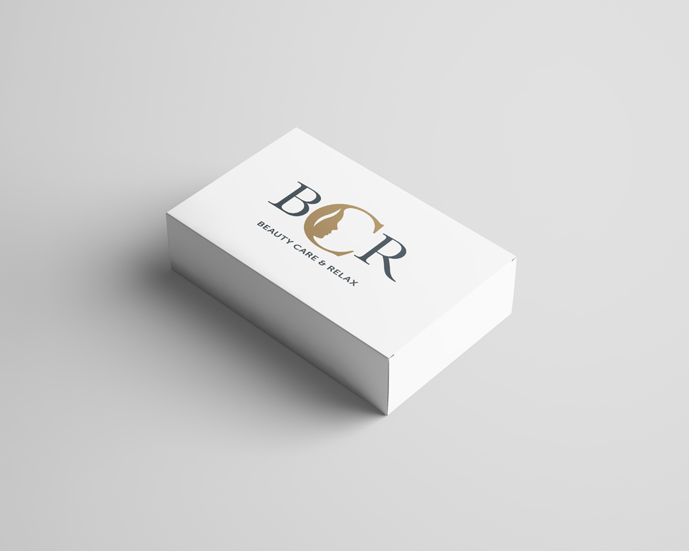 Logo BCR Beaty Care & Relax – Krabička